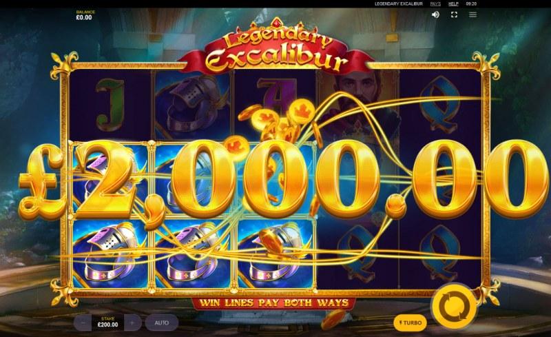 Legendary Excalibur :: Big Win