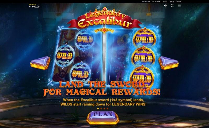 Legendary Excalibur :: Wild Symbols Rules