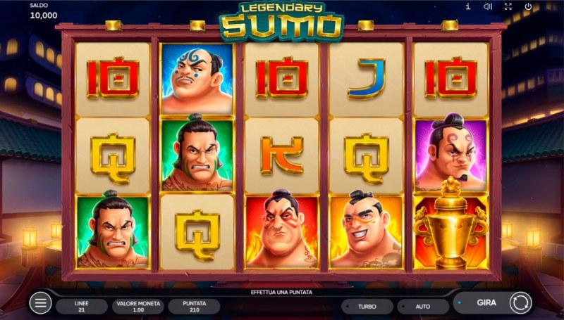 Legendary Sumo :: Base Game Screen