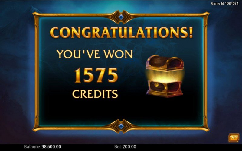 Legendary :: Total Free Spins Payout