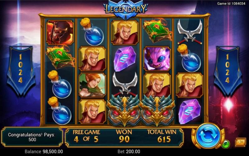 Legendary :: Multiple winning combinations