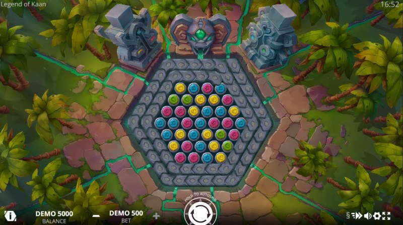 Legends of Kaan :: Main Game Board