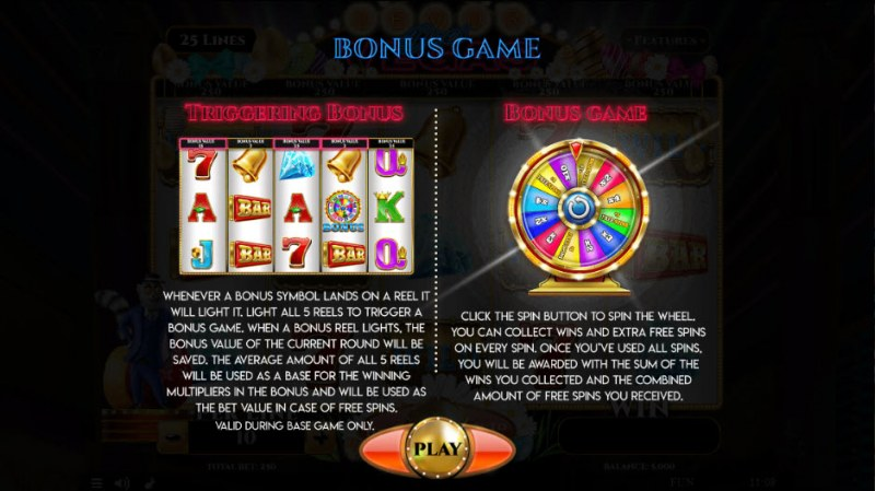 Lemur Does Vegas Easter Edition :: Bonus Game Rules