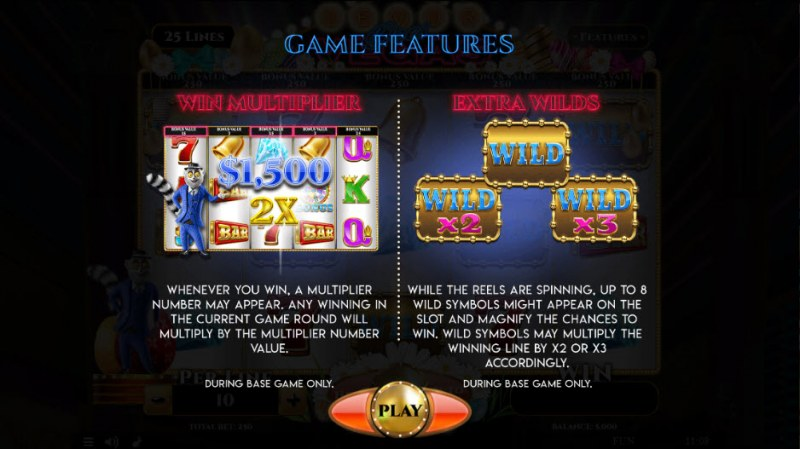 Lemur Does Vegas Easter Edition :: Feature Rules