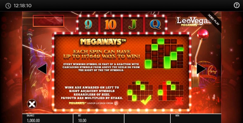 Leo Vegas Megaways :: Megaways