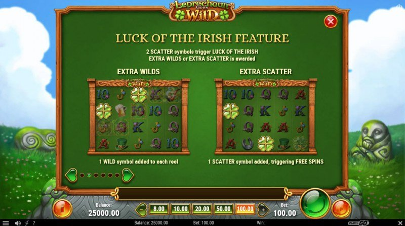 Play slots at House of Jack: House of Jack featuring the Video Slots Leprechaun Goes Wild with a maximum payout of $1,000,000