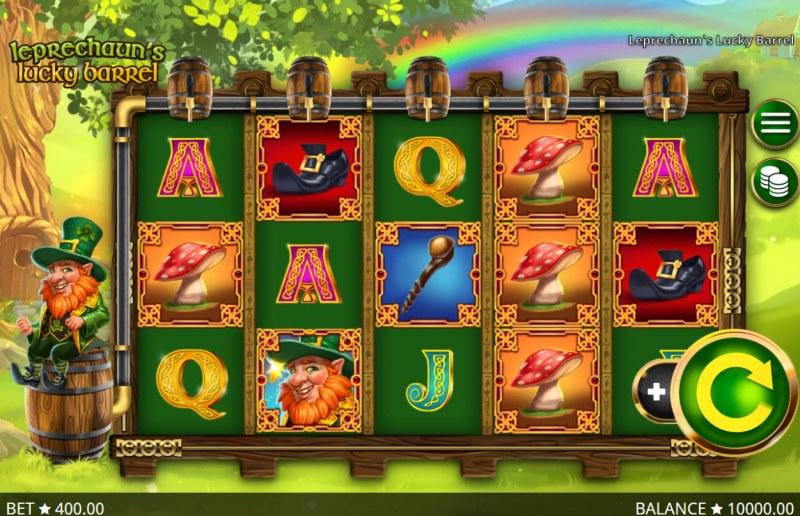 Leprechaun's Lucky Barrel :: Main Game Board