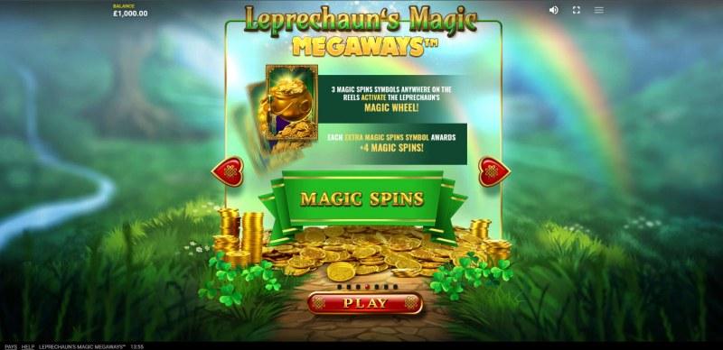 Leprechaun's Magic Megaways :: Scatter Symbol Rules