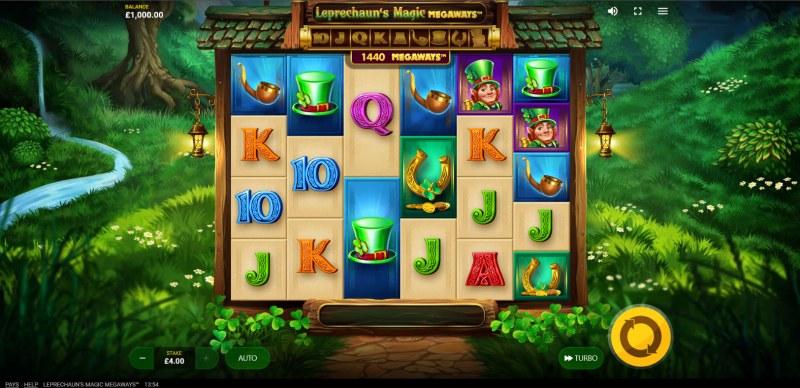 Leprechaun's Magic Megaways :: Main Game Board