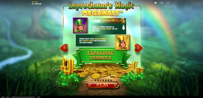 Leprechaun's Magic Megaways :: Feature Rules