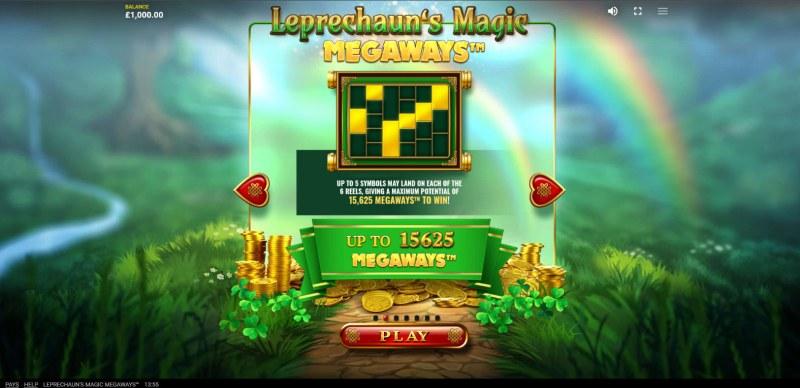 Leprechaun's Magic Megaways :: Megaways