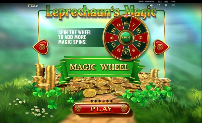Leprechaun's Magic :: Magic Wheel