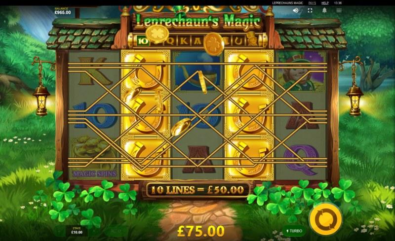 Leprechaun's Magic :: Multiple winning paylines