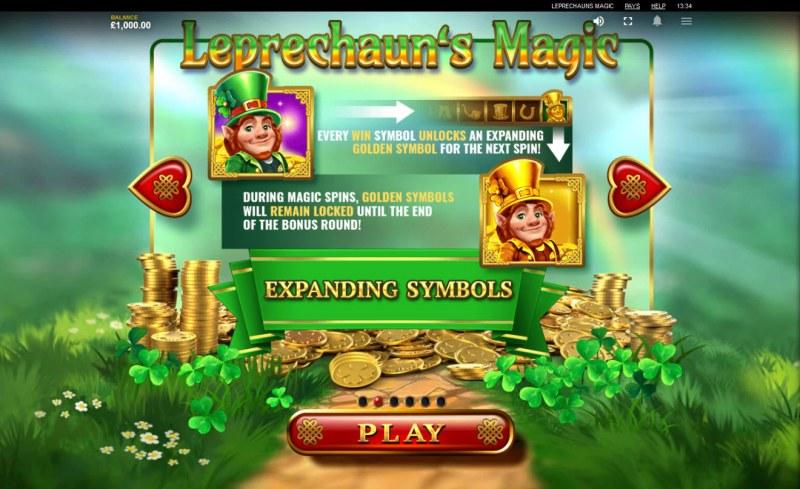 Leprechaun's Magic :: Expanding Symbols