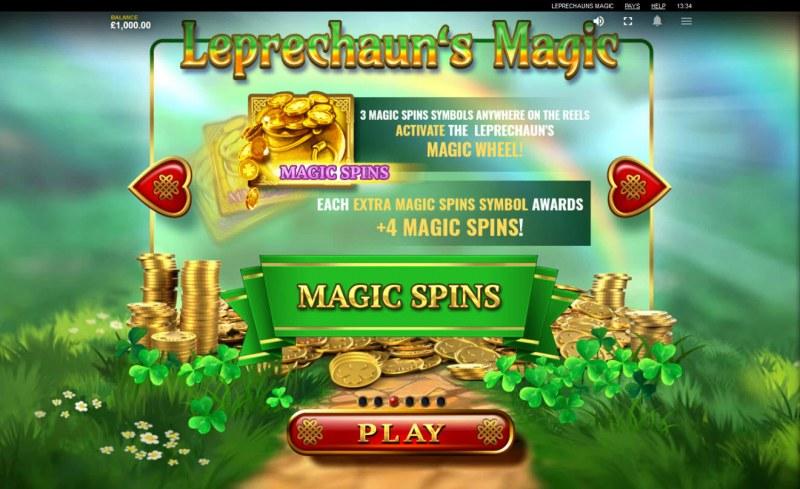 Leprechaun's Magic :: Magic Spins