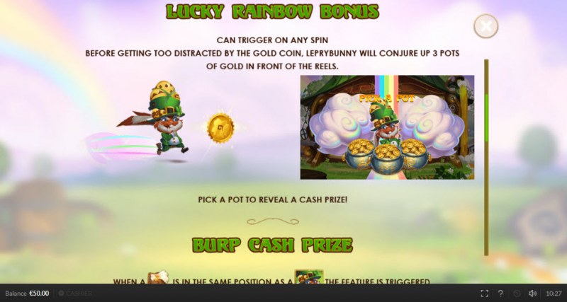 Lepry Bunny :: Rainbow Bonus