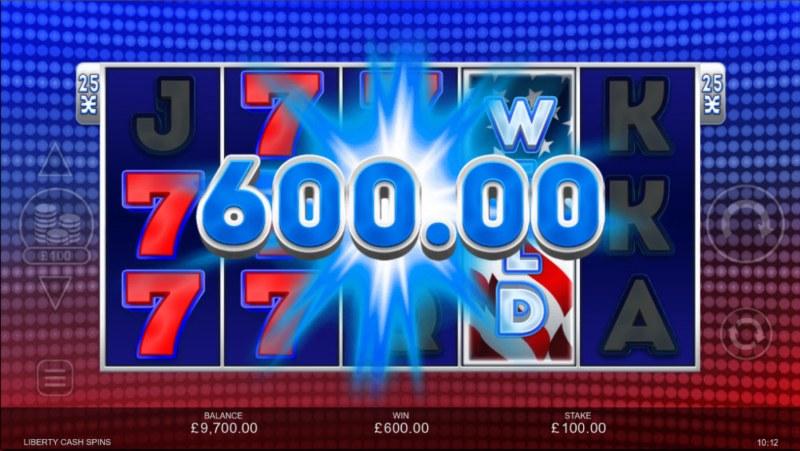 Liberty Cash Spins :: Big Win