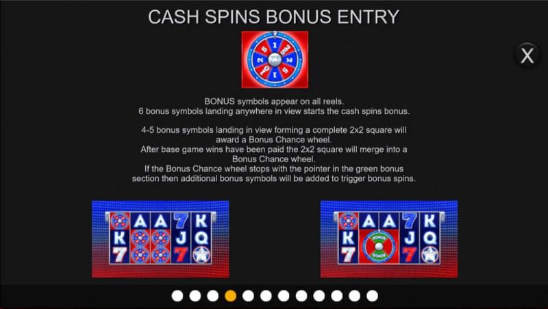 Liberty Cash Spins :: Cash Spins Bonus