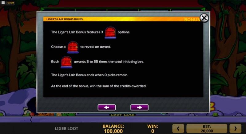 Liger Loot :: Bonus Feature