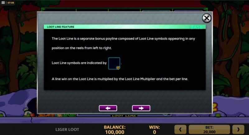 Liger Loot :: Loot Line Feature