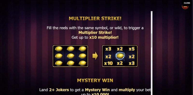 Lightning Joker :: Multiplier strike
