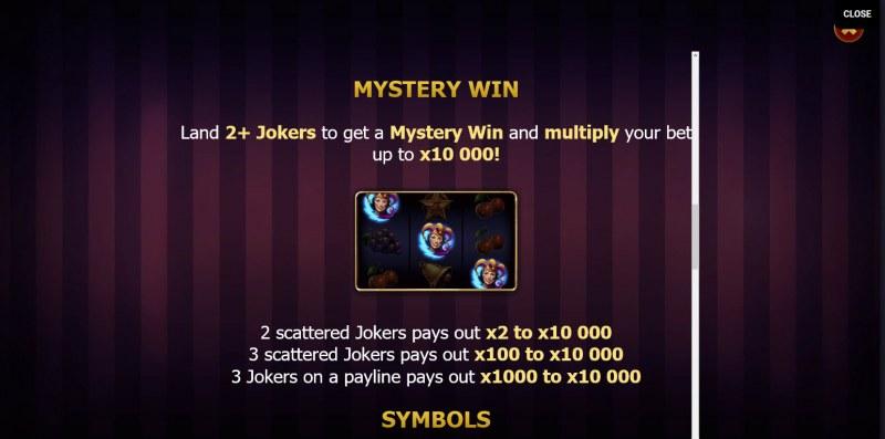 Lightning Joker :: Mystery Win