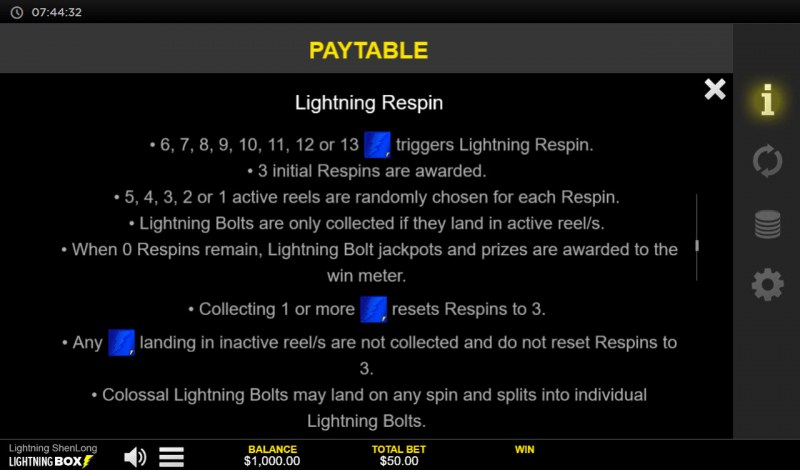 Lightning Shenlong :: Lightning Respin