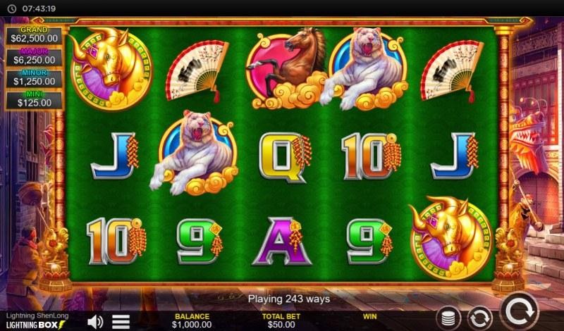Lightning Shenlong :: Main Game Board