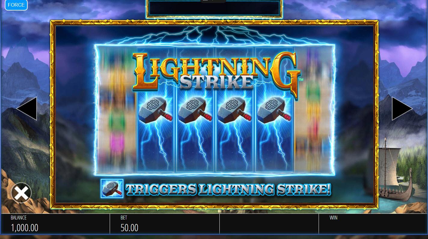 Lightning Strike Megaways :: Feature Rules
