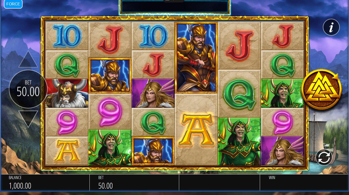 Lightning Strike Megaways :: Main Game Board