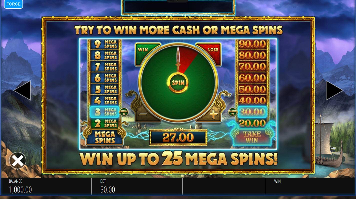 Lightning Strike Megaways :: Gamble Feature Rules