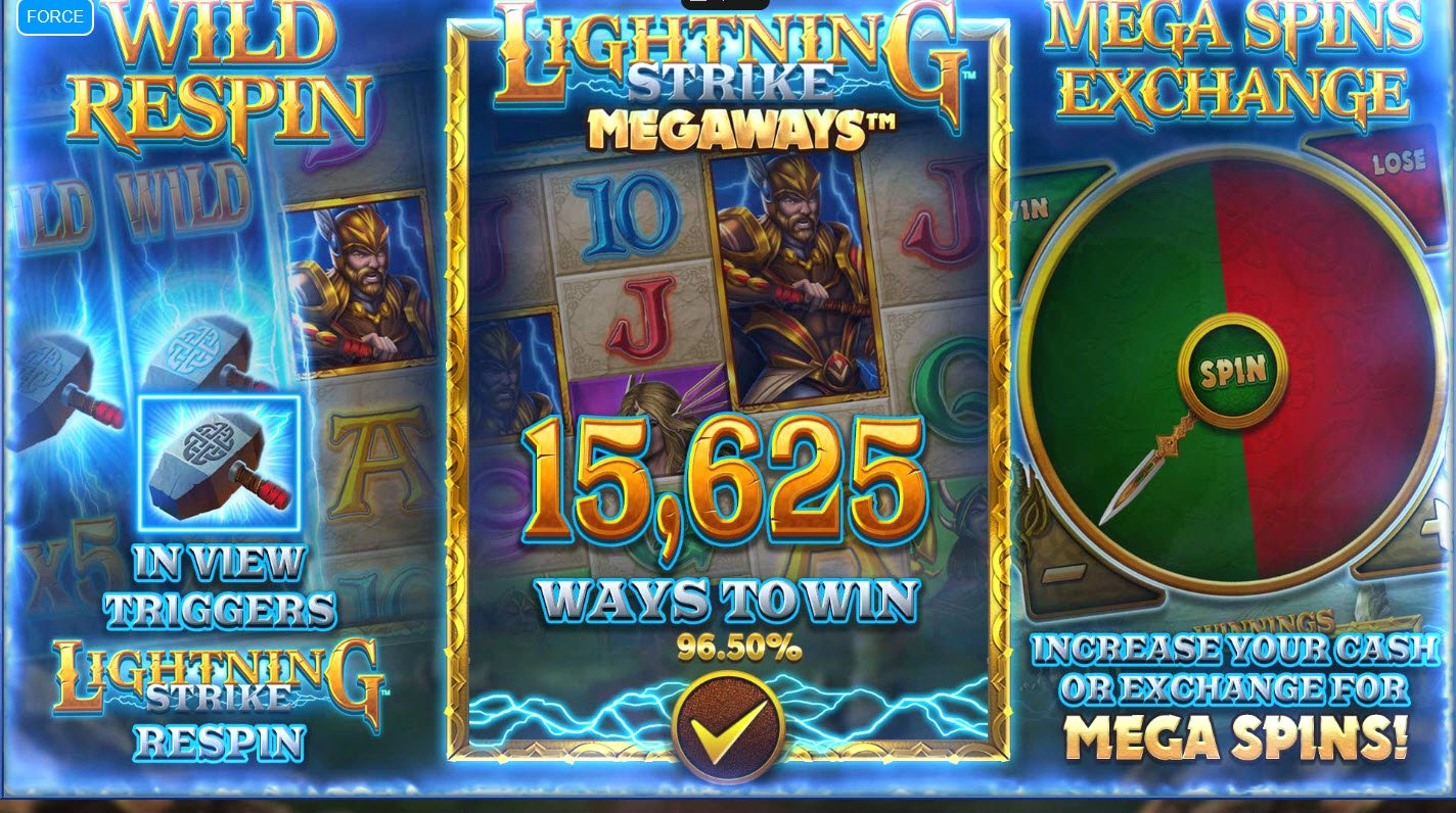 Lightning Strike Megaways :: Features Preview