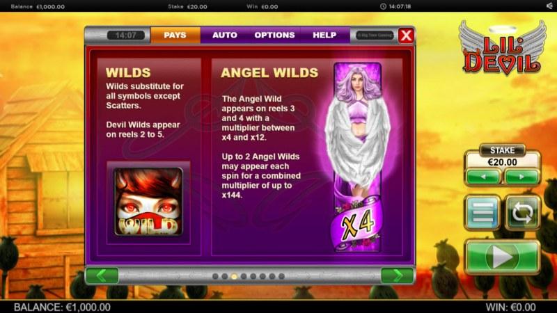 Lil' Devil :: Wild Symbols Rules