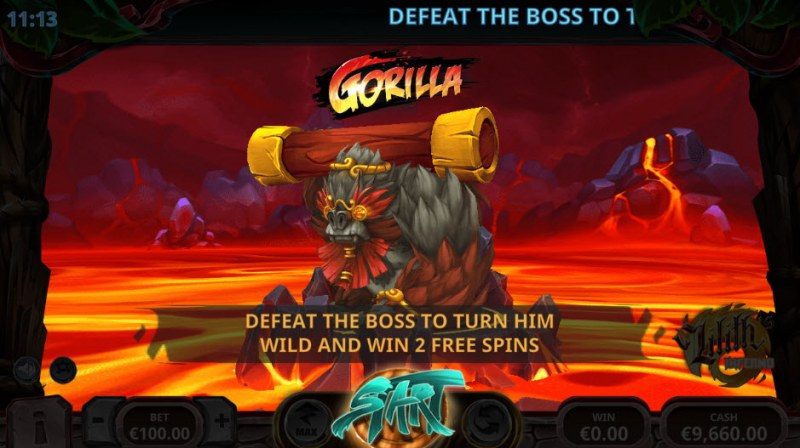 Lilith's Inferno :: Defeat the boss to win more free spins