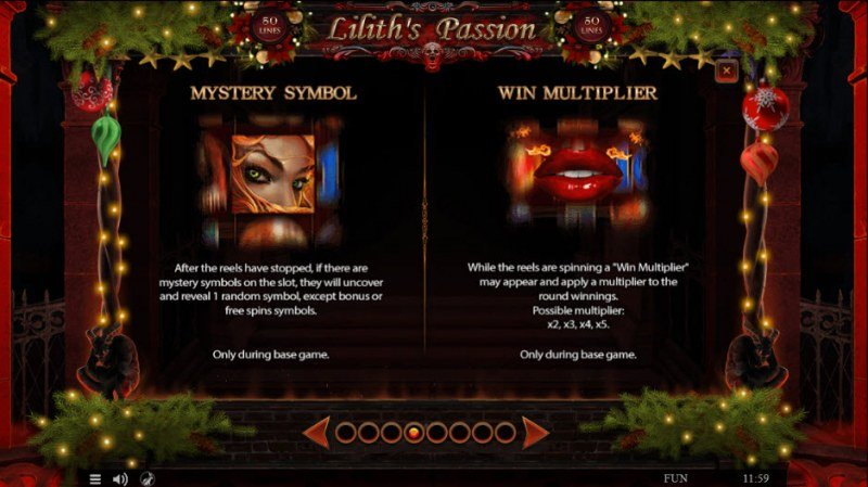 Lilith's Passion Christmas Edition :: Feature Rules