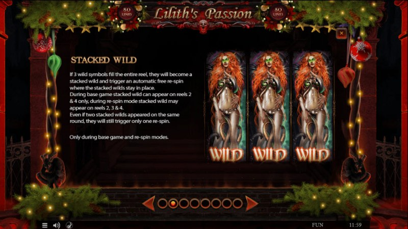 Lilith's Passion Christmas Edition :: Wild Symbols Rules