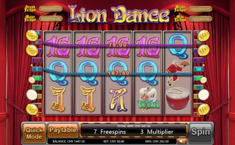 Lion Dance :: Four of a kind