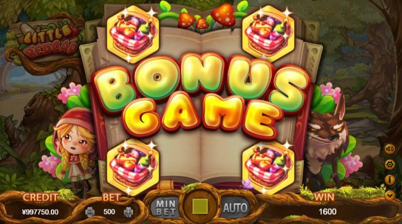 Little Red Cap :: Bonus Game