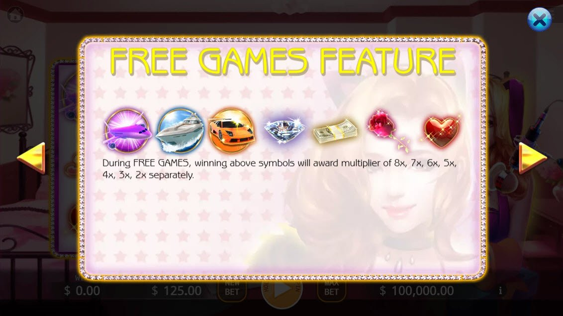 Live Streaming Star :: Free Spins Rules