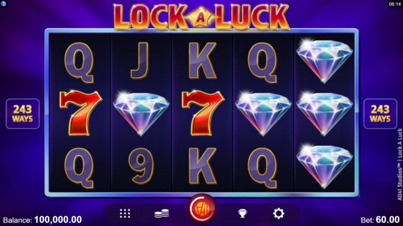 Play slots at Next Casino: Next Casino featuring the Video Slots Lock A Luck with a maximum payout of $80,000