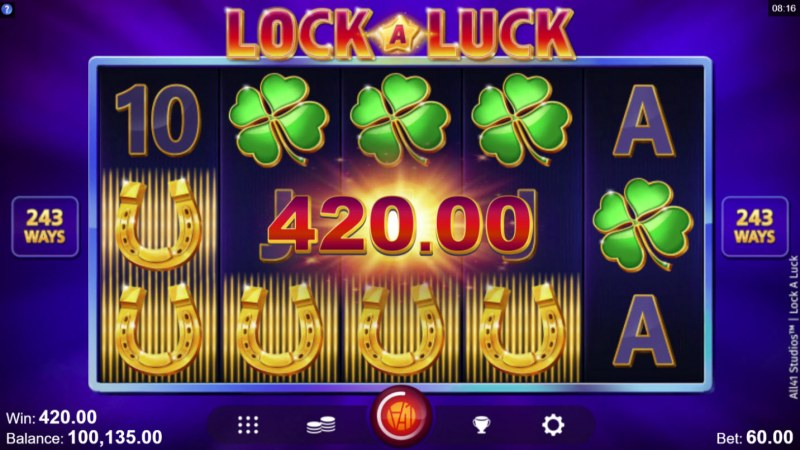 Lock A Luck :: Four of a kind