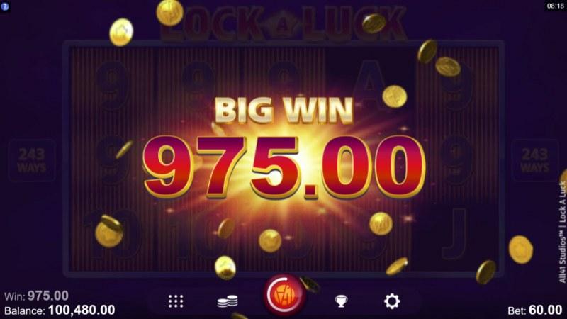 Lock A Luck :: Big Win
