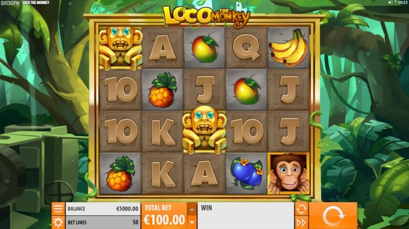 Loco the Monkey :: Main Game Board