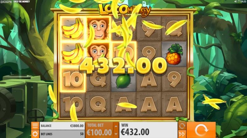 Loco the Monkey :: Multiple winning paylines