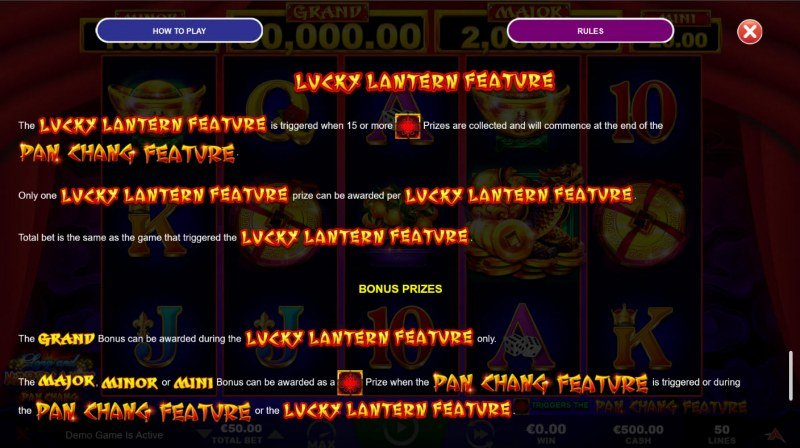 Long and Happy Life Pan Chang :: Lucky Lantern Feature