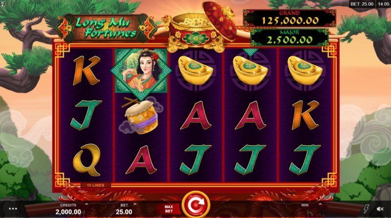 Long Mu Fortunes :: Main Game Board