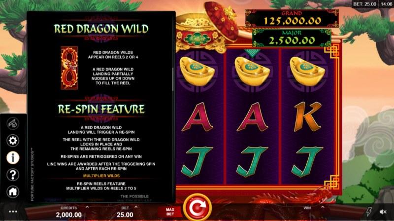 Long Mu Fortunes :: Wild Symbols Rules