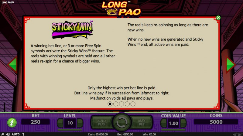 Long Pao :: Sticky Win