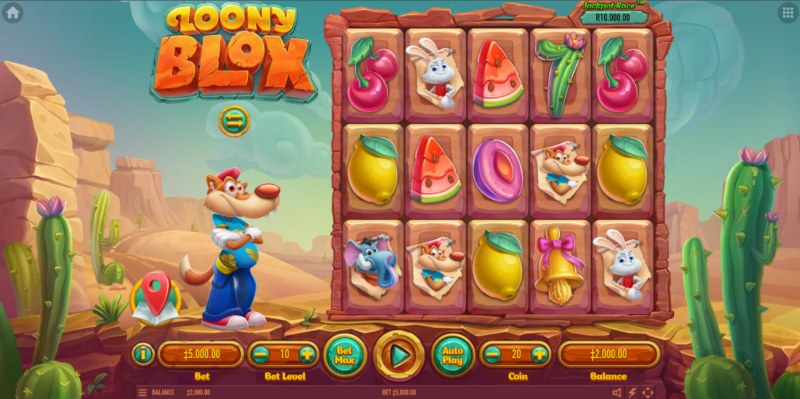 Loony Blox :: Main Game Board