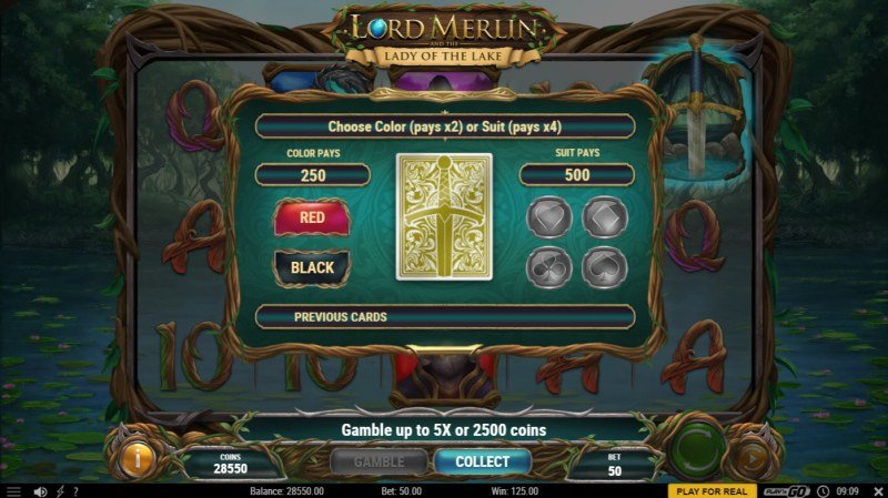 Lord Merlin and the Lady of the Lake :: Gamble feature